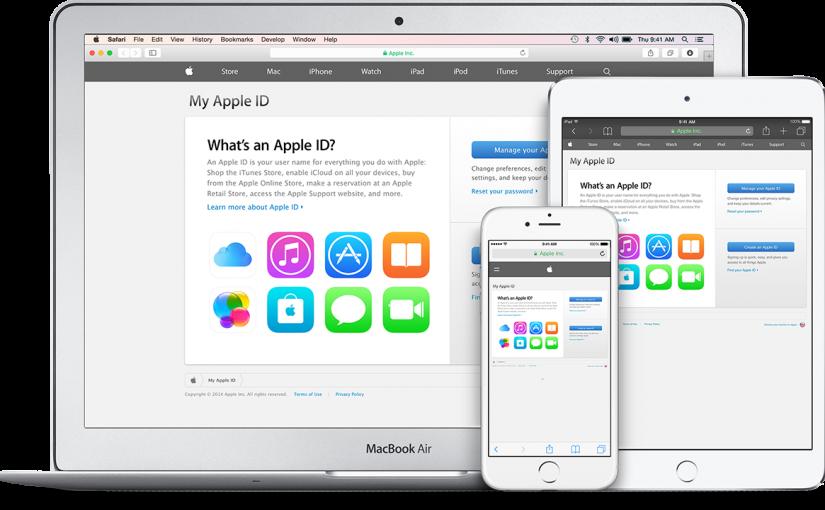 Cách thức để  mở 1 acc iD Apple cho smartphone iPhone của quý khách hàng