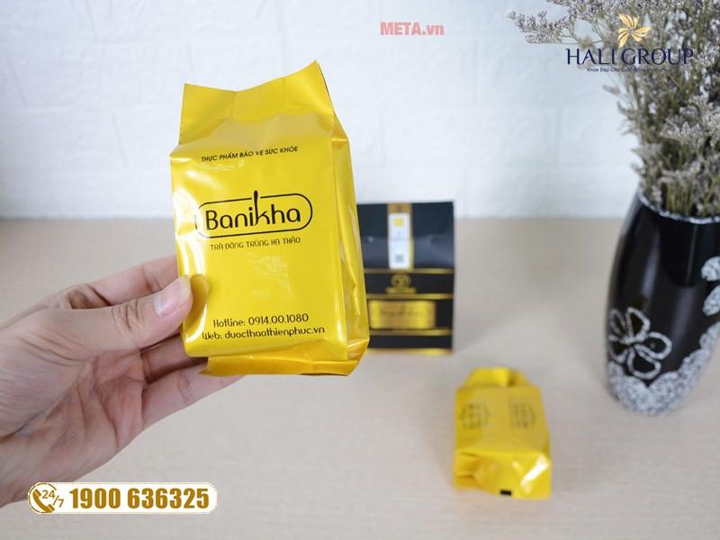 Những điều cần biết về sản phẩm trà đông trùng hạ thảo Banikha trên cả nước
